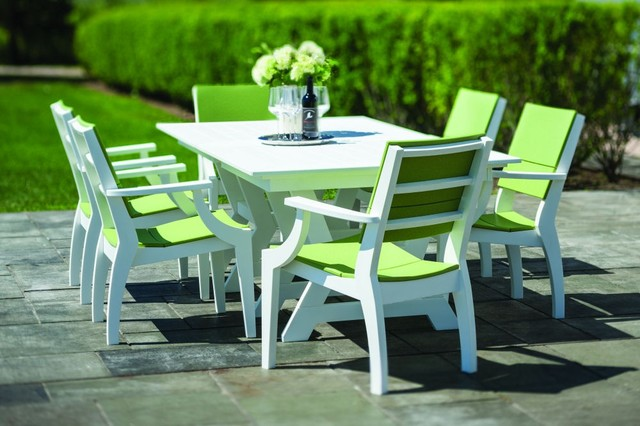 Seaside Casual Sym Dining Table And Chairs Patio Furniture And Outdoor  Furniture