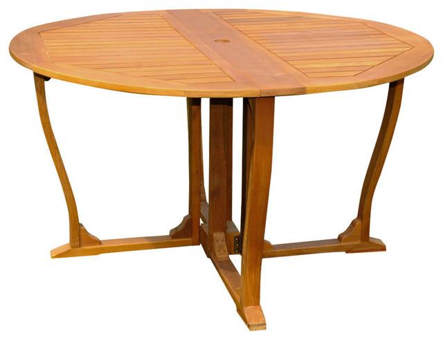 Royal Tahiti Round Gate Leg Table.