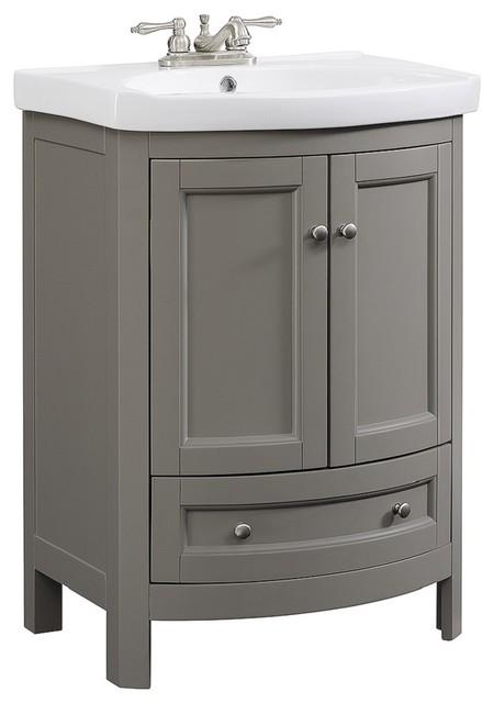 24 white vanity with top inch bathroom lowes gray transitional vanities sink kokols set
