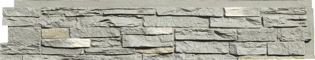 NextStone Slatestone Panels - 8 Panels Per Box Arizona Red, Rundle Ridge Gray