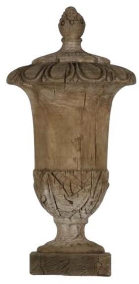Finial Urn Large Poplar New ZT-1109