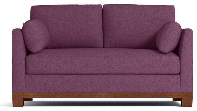 Ordinaire Avalon Apartment Size Sleeper Sofa, Innerspring Mattress, Amethyst