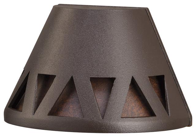 Kichler Overlay Led Deck Light, Textured Architectural Bronze, 2700k.