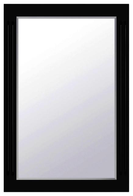 24 Framed Mirror Esprsso Finish X36