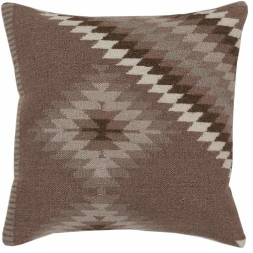 Surya - Surya Kilim Square Indoor Decorative Pillow, Down Or Polyester Filling - View in Your ...