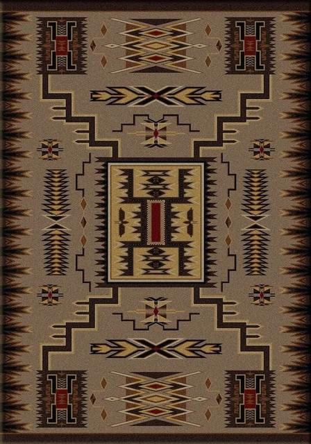 Storm Catcher Native American Design Area Rug Southwestern Area