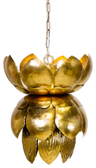gold leaf chandelier metal leaf blossom gold leaf chandelier eclectic chandeliers by abode llc