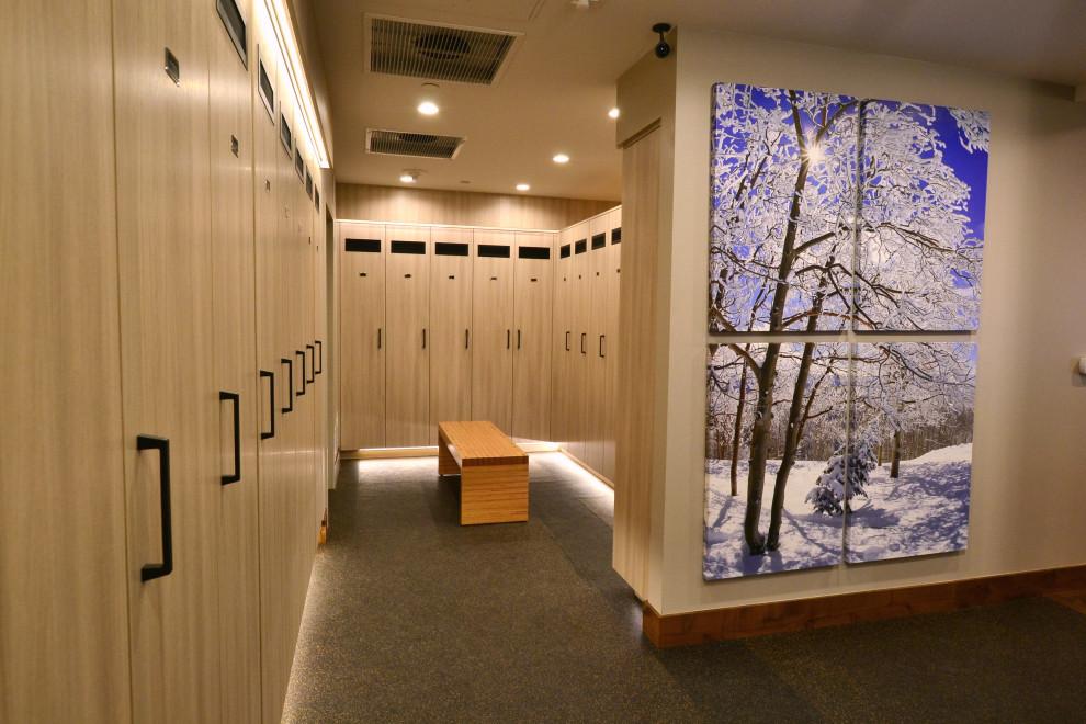 Ski Town Locker Room