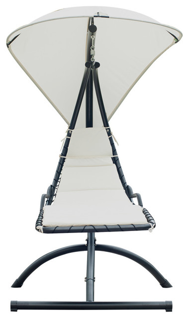 Office chair with swinging seat