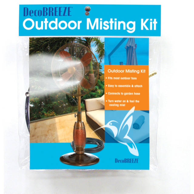 Outdoor Fan Misting Kit.
