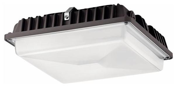"""Kichler Lighting C-Series - 10.25"""" 54W 1 LED Outdoor Flush Mount"""