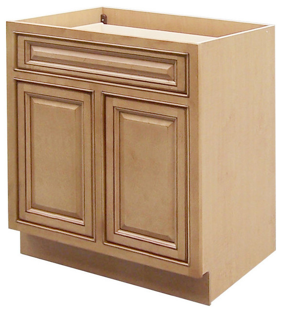 Sagehill Designs Cgb30 Collingwood Double Door Base Cabinet Transitional Kitchen Cabinetry