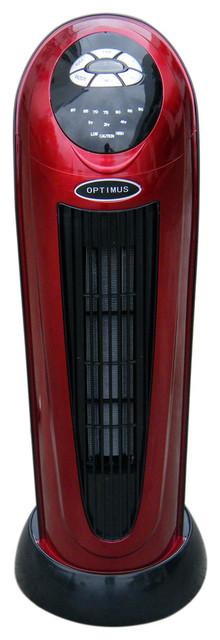"Optimus H7328s Heater Oscillating Tower Digital Temp, 22""."