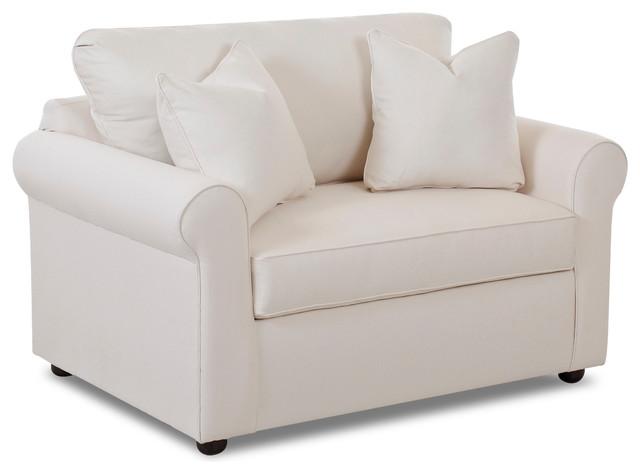 Savvy Ottawa Sleeper Sofa, Chair, Natural.