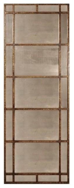 uttermost avidan antique gold mirror