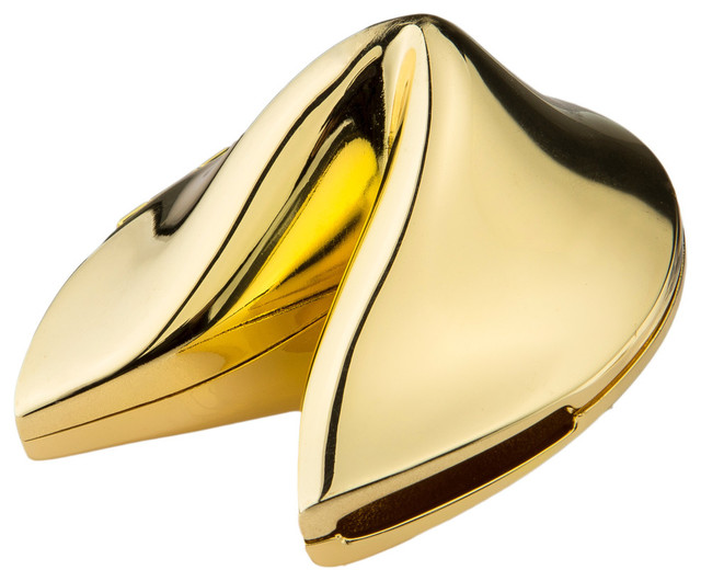 Dignified Fortune Box , Gold