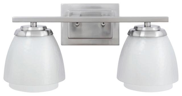 Livex 2 Light Bathroom Vanity Lighting Fixture Brushed: Craftmade Piedmont 2-Light Bathroom Lighting Fixture