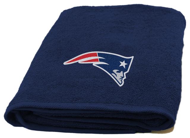 Patriots Applique Beach Towel.