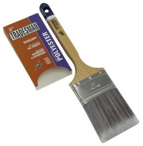 "3"" Polyester Bristle Paint Brush"