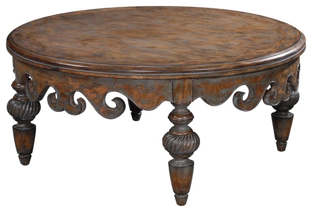 Antoinette Cocktail Table Traditional Coffee Tables