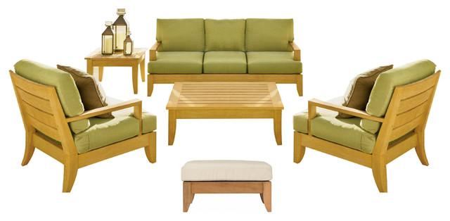 6 Piece Atnas Outdoor Teak Sofa Set