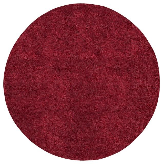 Surya Aros Aros1 Red Plush Area Rug