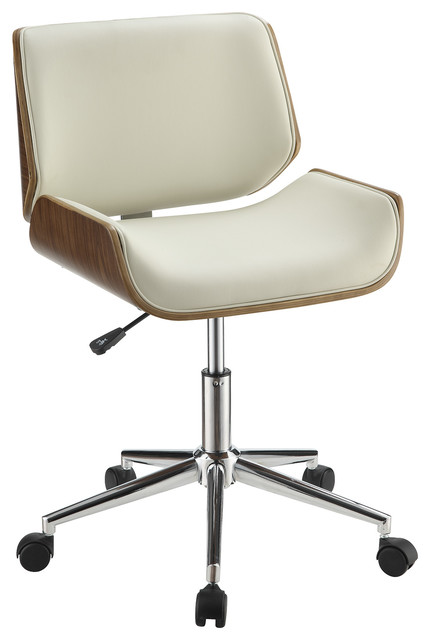 contemporary leatherette office chair modern office chairs by