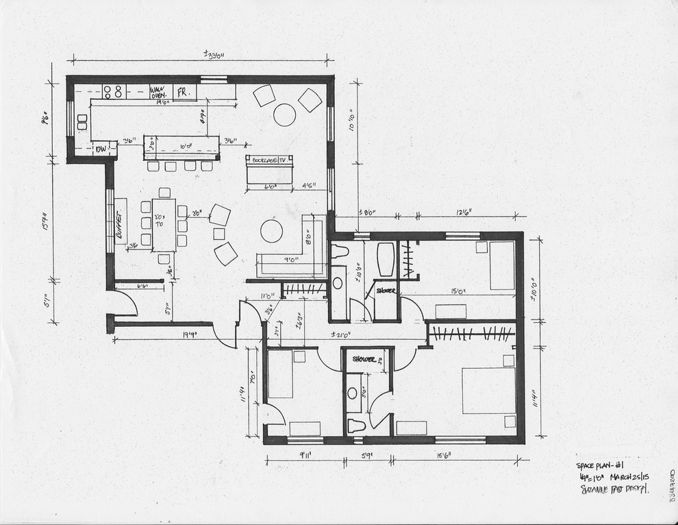 residential space plans- after