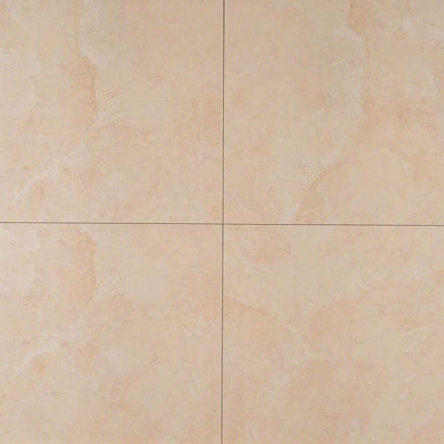 Elite Beige Marfil Pietra Porcelain Tile Polished 18x18