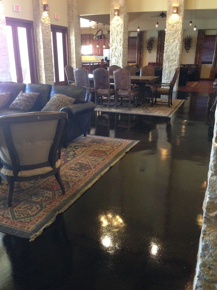 Clubhouse floor remodel