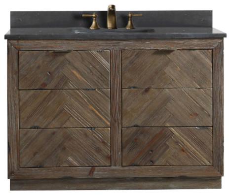 Legion Furniture Single Sink Vanity Rustic Brown 48 Rustic Bathroom Vanities And Sink Consoles By Legion Furniture Houzz