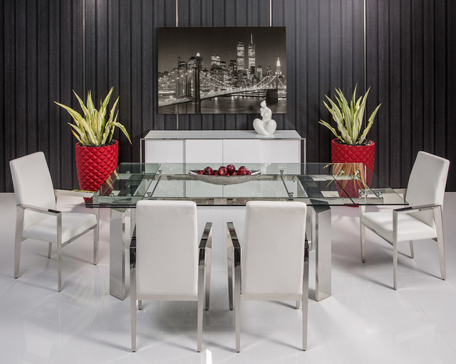 The Naked Dining Table Modern Dining Room Miami By El Dorado Furniture