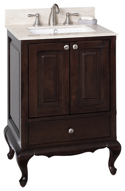birch bathroom vanity cabinets birch wood veneer vanity set in walnut 24 quot x20 17362