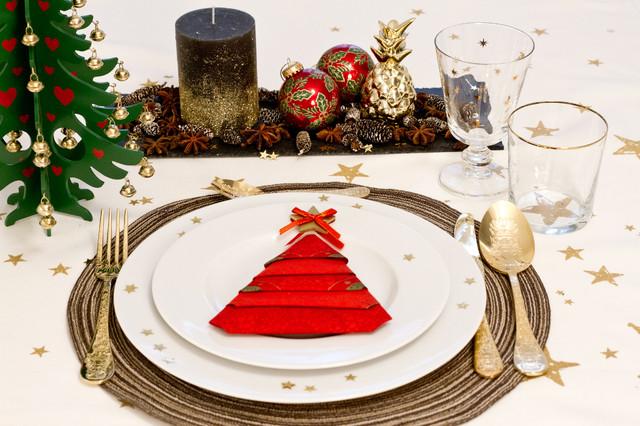 3 Fun Ways to Fold Napkins Into Christmas Trees
