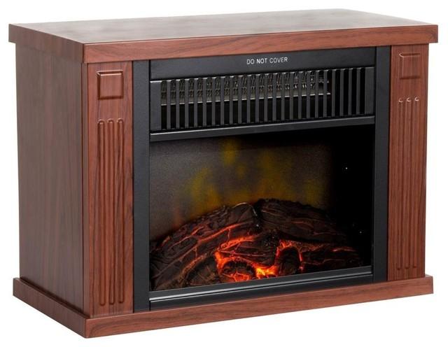 Portable Mini Electric Fireplace Heater.