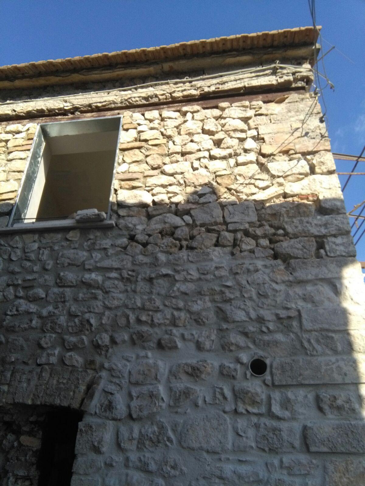facciata in centro storico
