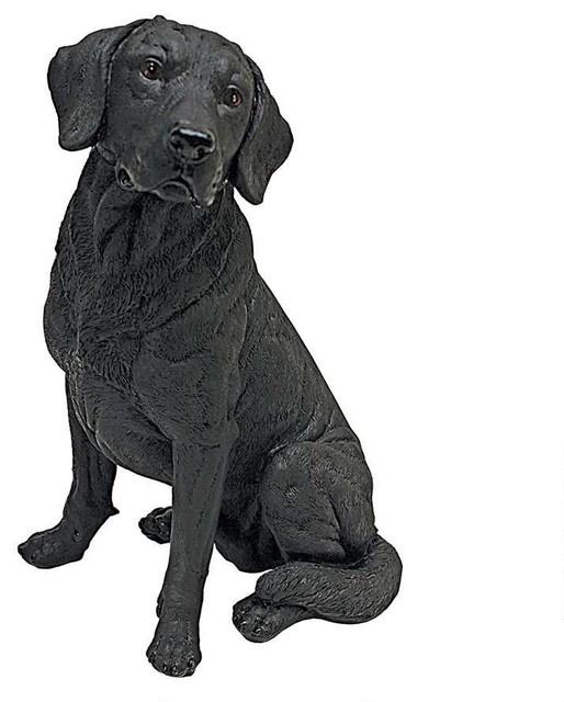 Design Toscano 15 5 Quot H Tall Adorable Black Labrador Dog