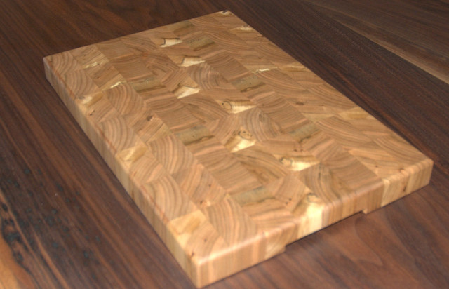 Black Cherry End Grain Cheese And Cutting Board