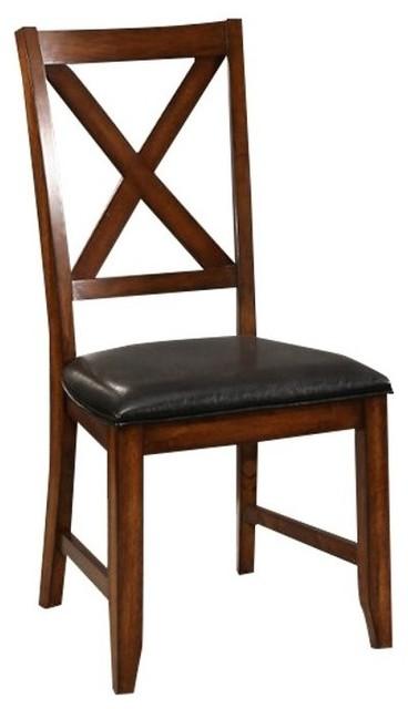 Miraculous Abbyson Living Leonard Acacai Dining Chairs Espresso Set Ibusinesslaw Wood Chair Design Ideas Ibusinesslaworg