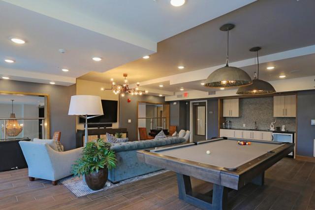Elan Clubhouse Apartment Design Contemporary Miami