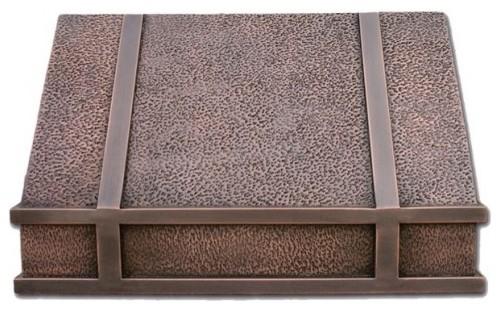 Iron Range Copper Range Hood Rustic Range Hoods And