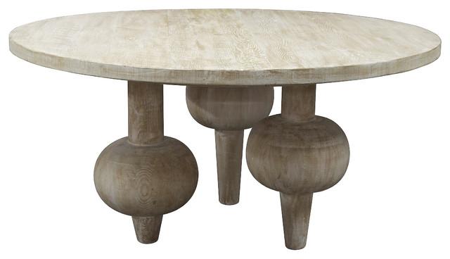 Vern Modern Classic Orb Reclaimed Wood Round Dining Table modern dining  tables. Vern Modern Classic Orb Reclaimed Wood Round Dining Table   Modern