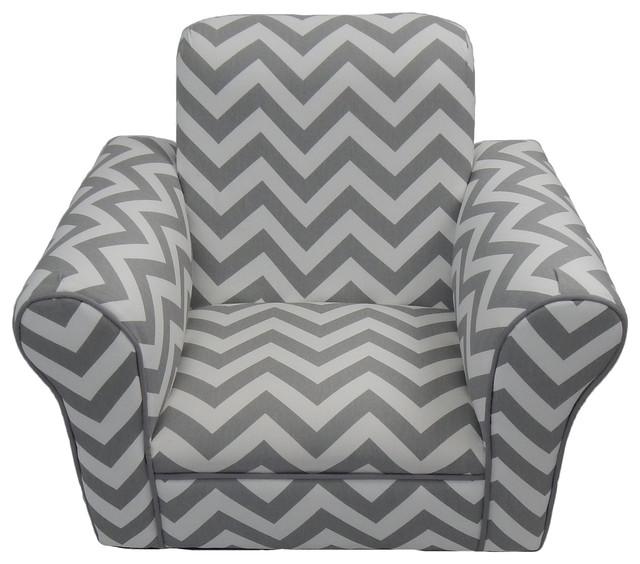Etonnant Toddler Rocker Gray Chevron