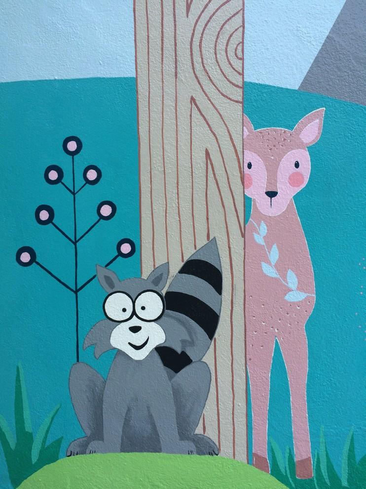 Outdoor Welcome Mural