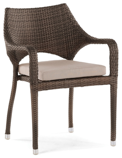 Sarzana Stackable Outdoor Dining Armchair