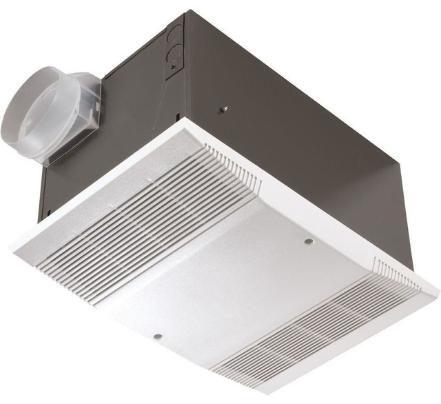 70 Cfm Ceiling Exhaust Fan 1500 Watt Heater And Wall Switch Contemporary Bathroom Exhaust