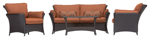 Strathmere Allure 4-Piece Lounges Set, Strathallure4pc-Plw.