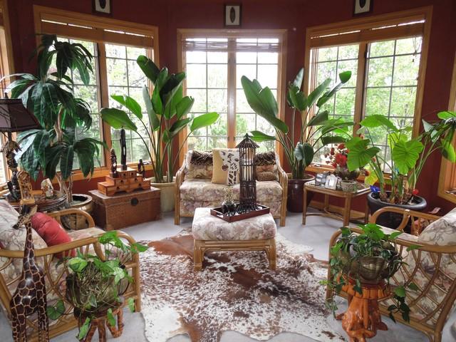 Foto di case e interni eclettici