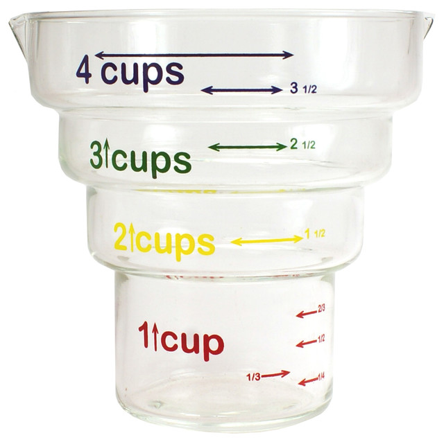 Catamount Glass Step Measuring Cups 4 Cups