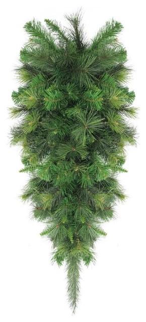 48 Canyon Pine Artificial Christmas Teardrop Swag,  Unlit.